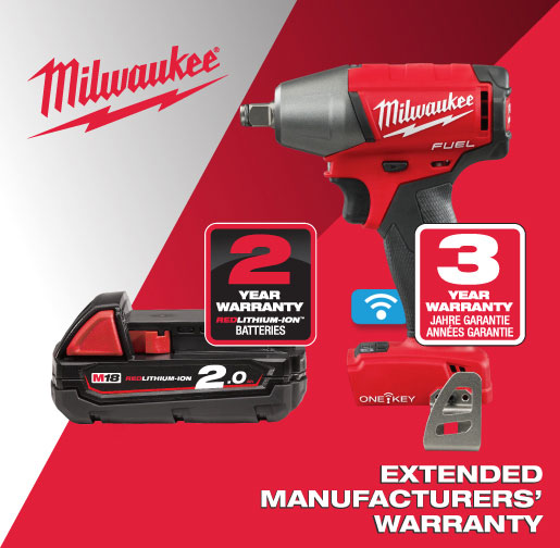 Milwaukee Extended Warranty