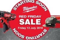 Milwaukee Red Friday Sale!